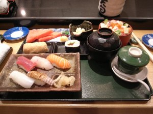 Sushi Lunch Set at Ten Jaku for HKD 110