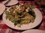 Very Oily Caesar Salad