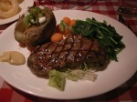 Sirloin at Louis Steak House