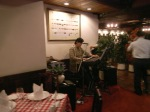 One-man Band at Louis Steak House
