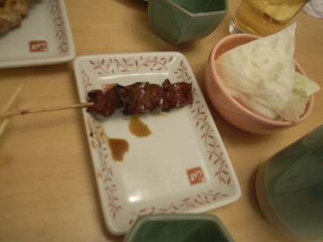 Hatsu (ハツ) or Kokoro (こころ) or Chicken Heart Yakitori