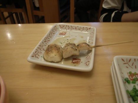 Mushroom Yakitori