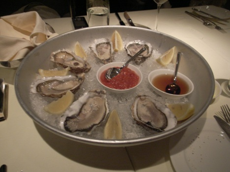 Oysters from Dakota Prime