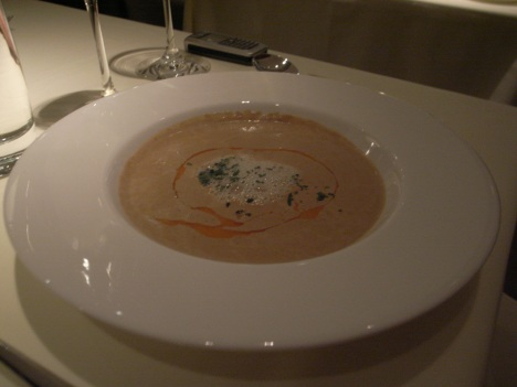 Lobster Bisque at Dakota Prime