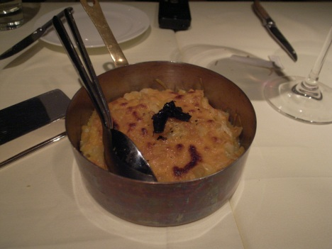 Macaroni & Cheese with Truffle Sauce