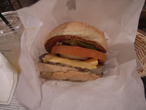 Classic Cheese Burger at Freshness Burger