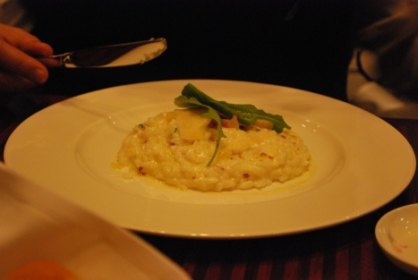 Risotto at Melt Bar & Grill