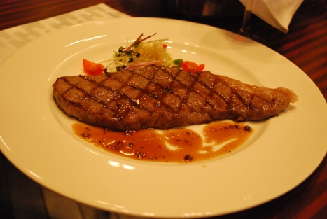 Hokkaido Sirloin at Melt Bar & Grill, Hilton Niseko Village