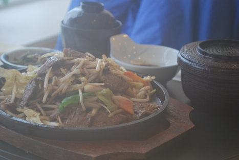 Mongolian Lamb Barbeque