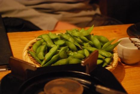 Edamame (枝豆) at Abucha