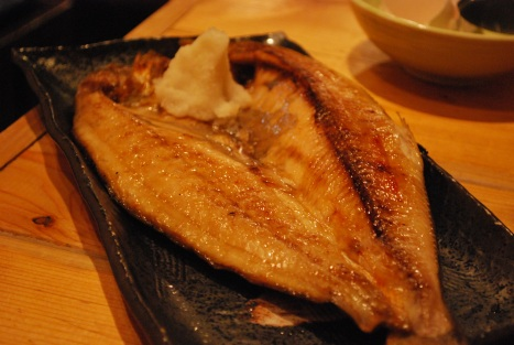 Lightly Salted Grilled Mackerel
