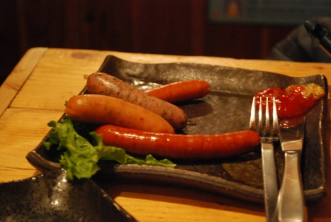 Mixed Sausages at Abucha