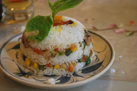 Royal Rice with Shrimp