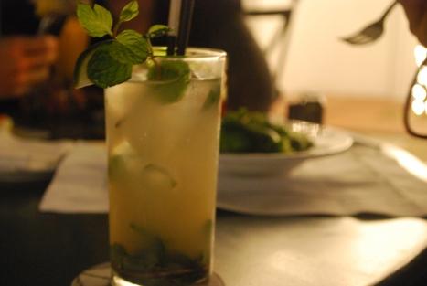 Lychee Mojito at Le Club, Metropole Hotel, Hanoi