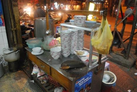 Makeshift Noodle Cart