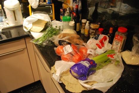 The Ingredients ...