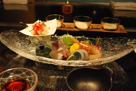 Seasonal Sashimi Platter ... and Seasonal It Was ...