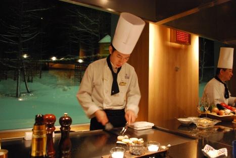 Our Chef de Partie ... Mr. Ogawa-san