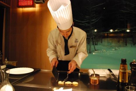 Carefully Handling the Foie Gras