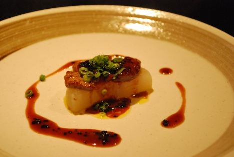 Sauteed Foie Gras with Truffle Sauce