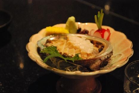 Awabi (Abalone) Sashimi