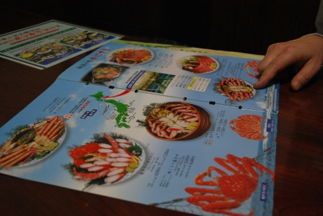 Deciding Which Crab Feast to Have ...