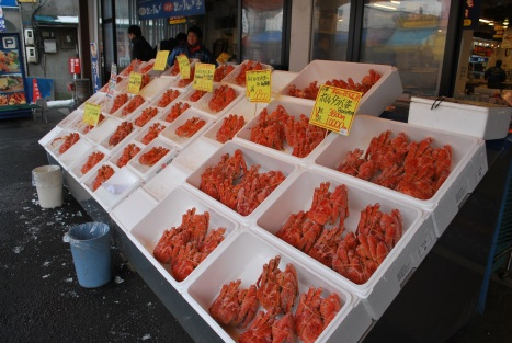 Hokkaido King Crabs ... and Lots of Them