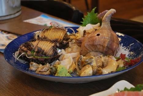 Conch and Abalone