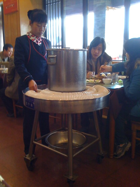 Dumpling Soup Trolley