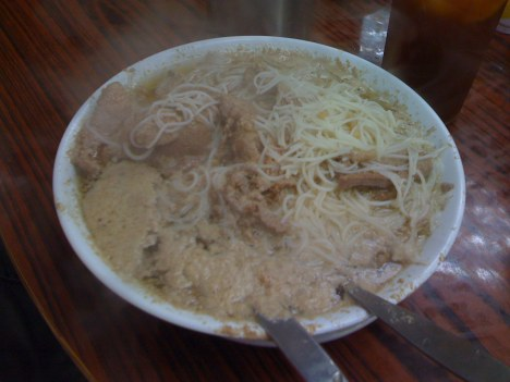 Pig's Liver and Beef Vermicelli