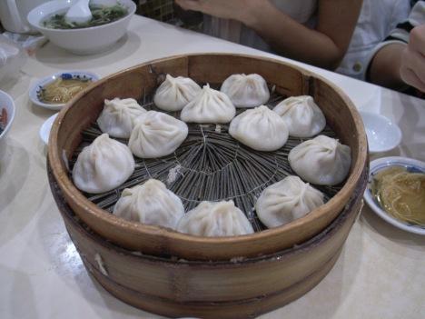 Pork Tang Bao (纯鲜肉汤包)