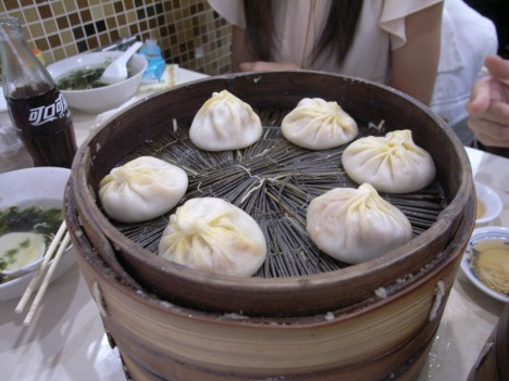 Pure Crab Roe Dumplings (纯蟹粉汤包)