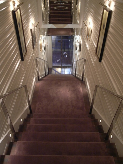 The Stairs Leading up to the The Drawing Room