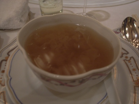 Chicken, Pear and Snow Fungus (雪耳) Soup