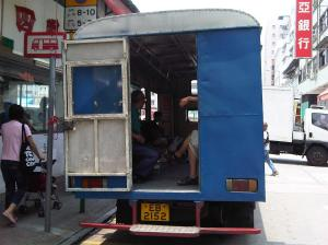 Village Bus (村巴) from Hong Kong's Boonies