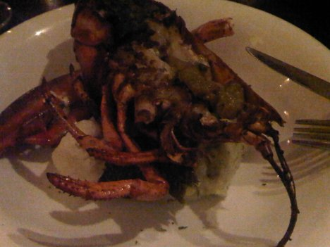 Grilled Lobster at Su Casa