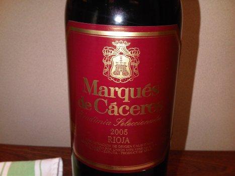 2005 Marques de Caceres, Rioja