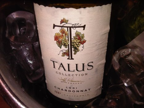 2007 Talus Collection Chardonnay