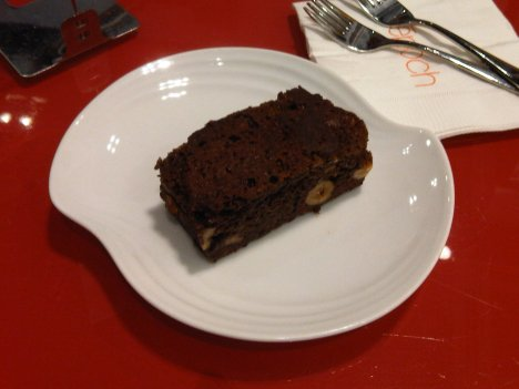 Almond Brownie at Epoch on Star Street