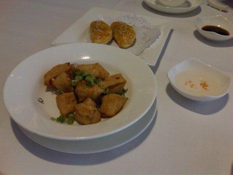 Salt & Pepper Deep-fried Tofu (椒鹽豆腐)