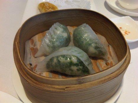 Chive Dumplings (韭菜餃)