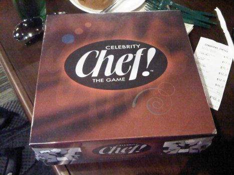 Celebrity Chef! The Game